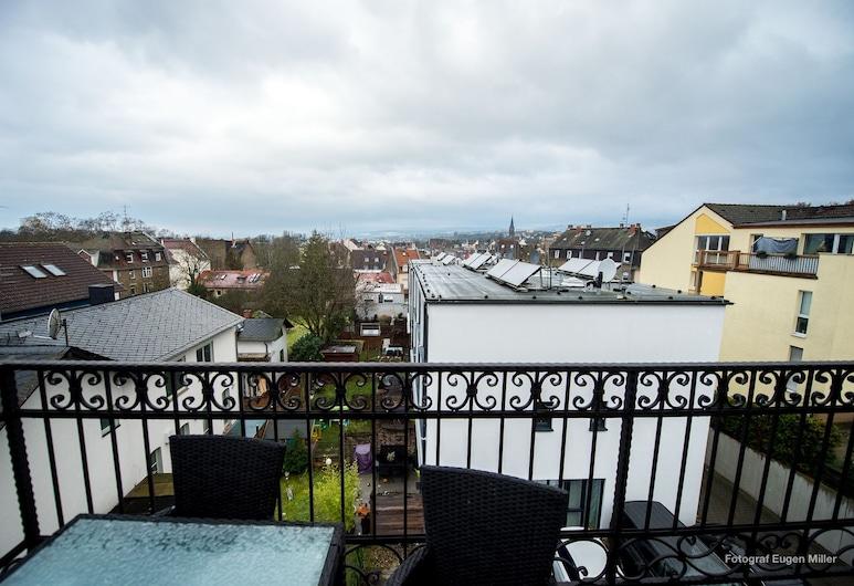 Merkel Villa Apartamente, Wiesbaden, Maisonette, Mehrere Betten, Nichtraucher (Apartment 3), Balkon