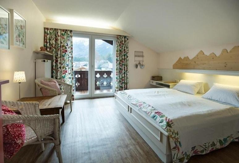Gästehaus Schönanger, Grainau, Suite familiar, vistas a la montaña, Habitación