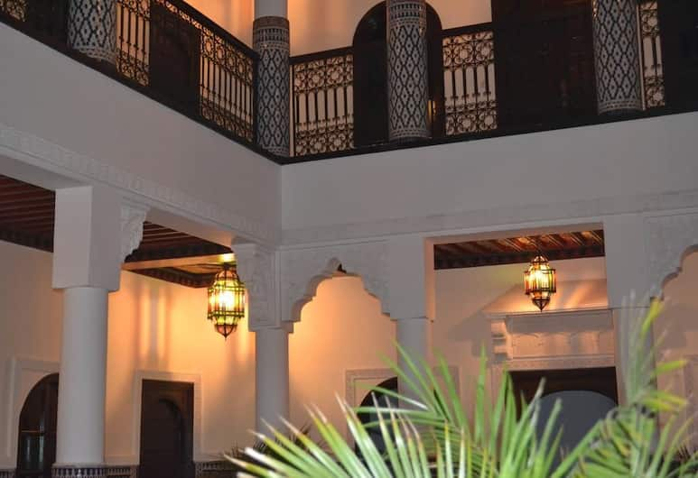 Riad Yakimour, Marrakesh, Interni dell'hotel