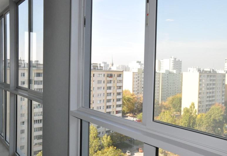 PCD Aparthotel Wola, Varsova, Huoneisto, Parveke, Kaupunkinäköala, Parveke