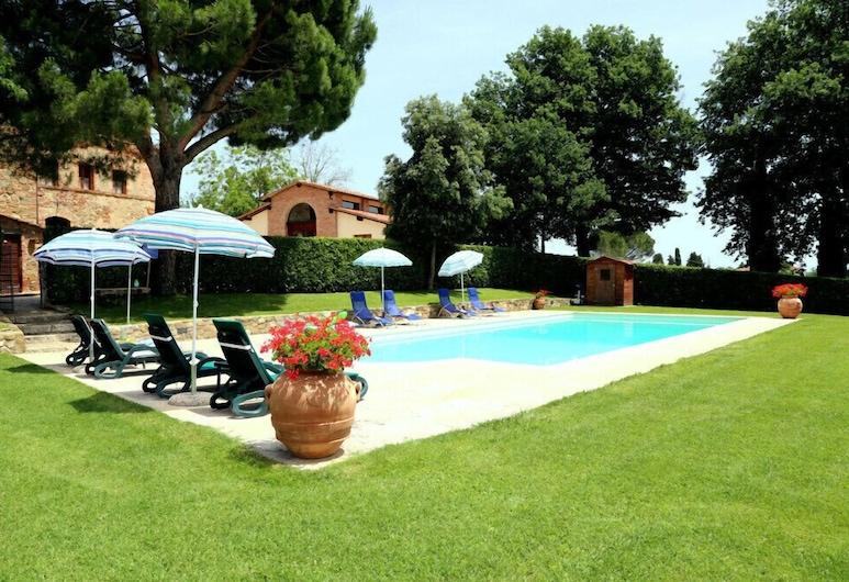 Verdidea - La Villa, Lucignano, Välibassein