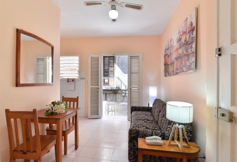 إمبيدرادو 505, هافانا, شقة في المدينة - عدة أسرّة - لغير المدخنين, منطقة المعيشة