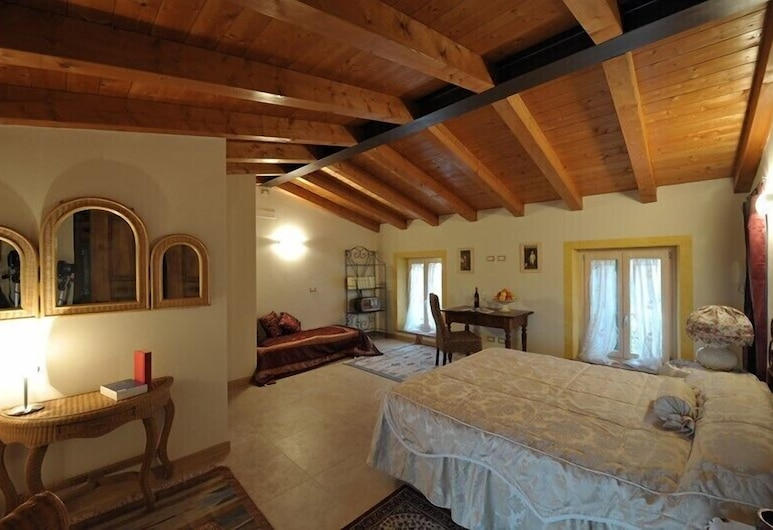 B&B Villa Roncatti, Verona, Deluxe tweepersoonskamer, 1 queensize bed, Kamer