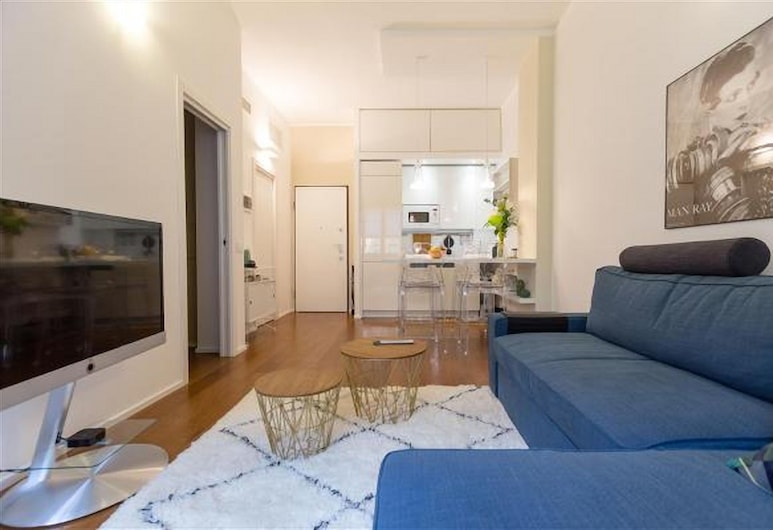 Assisi, Milan, Apartment, 1 Bedroom, Living Area