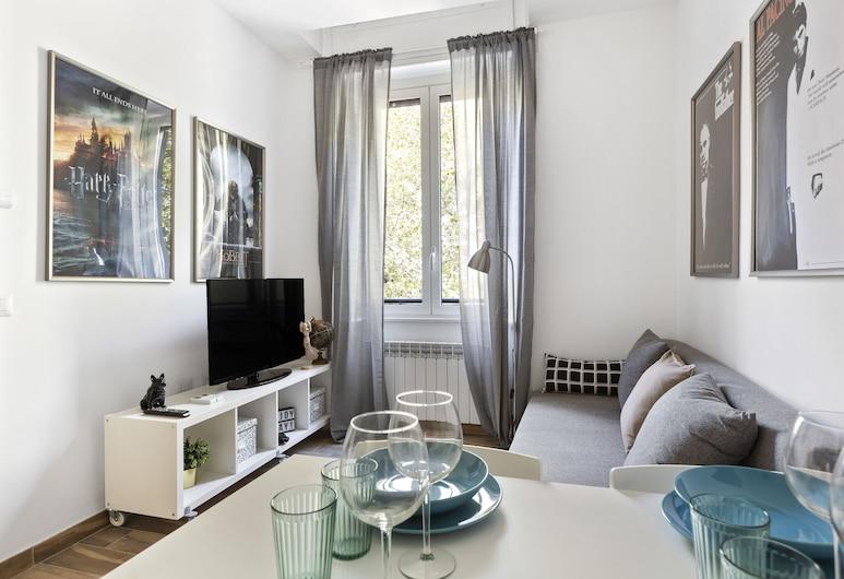 Certosa 3C, Milaan, Appartement, 1 slaapkamer, Woonruimte