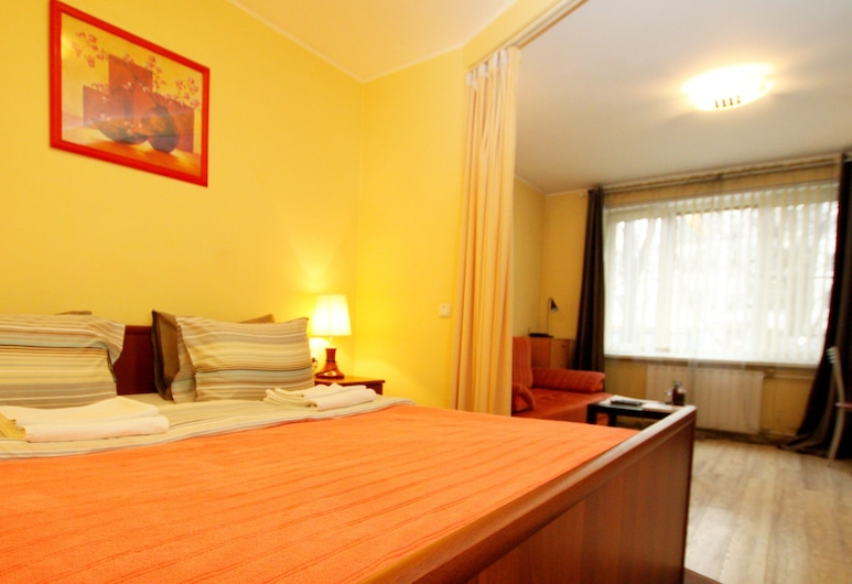 TVST Apartments Gruzinsky Pereulok 8, Moscow, Studio, 1 King Bed with Sofa bed, Room