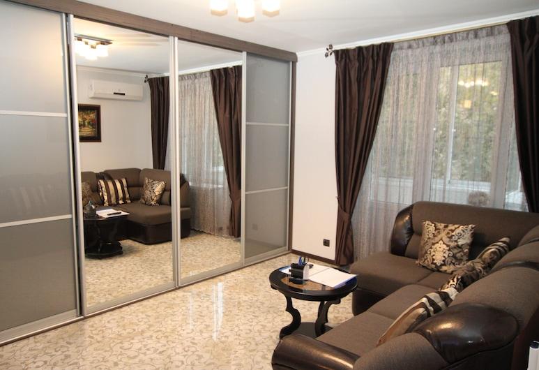 TVST Apartments Bolshoy Kondratievskiy 6, Moskwa, Apartament typu Classic Suite, Łóżko podwójne i sofa, dla niepalących, Pokój