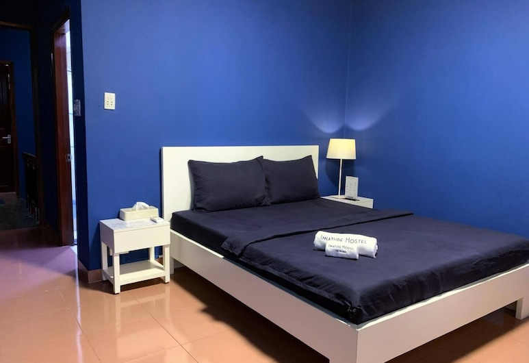 Innature Hostel, Ho Chi Minh City, Deluxe Double Room, 1 Queen Bed, City View, Guest Room