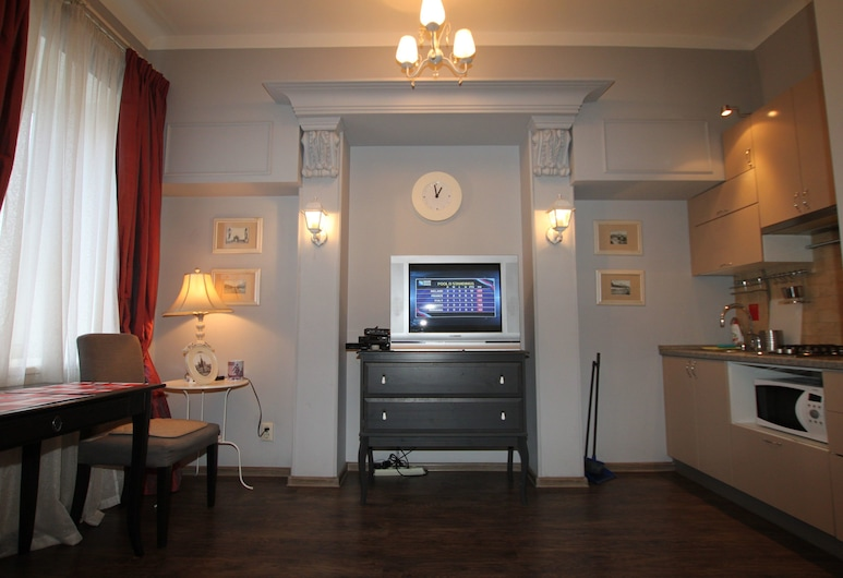 TVST Apartments Leningradsky Prospekt 10, Moskau, Apartment, 1Doppelbett und Schlafsofa, Zimmer