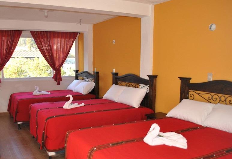 Hotel El Portal Sololateco, Solola, Habitación triple clásica, Varias camas, para no fumadores, Habitación