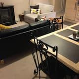 豪華套房, 1 間臥室, 非吸煙房 - 客廳