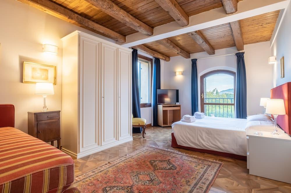 Apartament typu Deluxe Suite, 1 sypialnia, dla niepalących, widok na ogród - Pokój