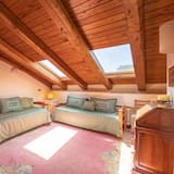 Apartament rodzinny typu Suite, 2 sypialnie, widok na ogród - Powierzchnia mieszkalna