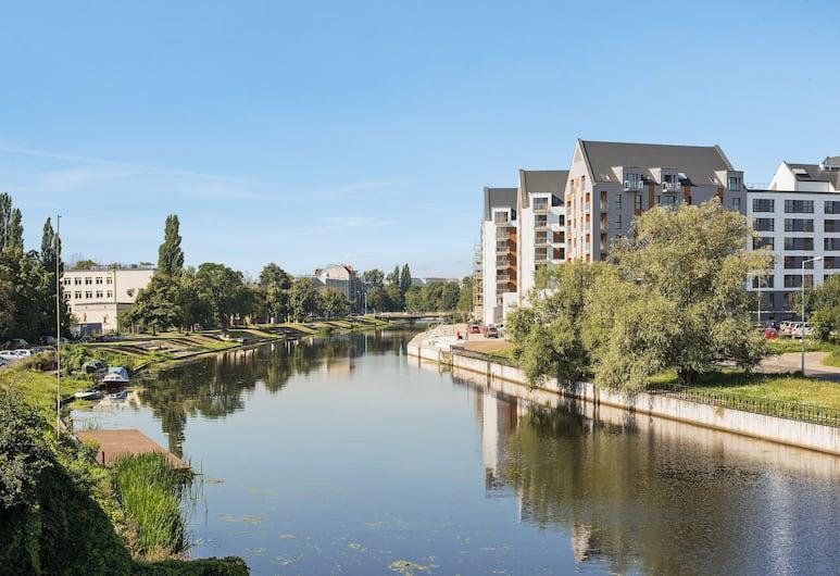 Downtown Apartments - Nowa Motlawa, Gdansk, Utsikt fra luften