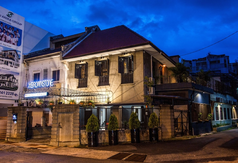 The Brownstone Hostel & Space, Ipoh, Fachada do Hotel - Tarde/Noite