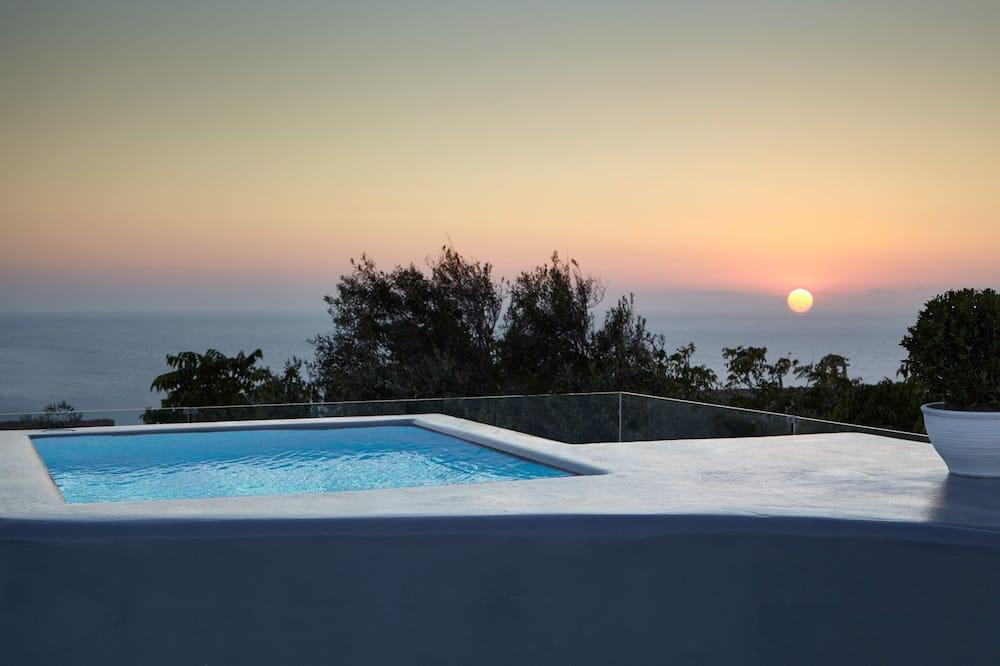 Suite Deluxe, bañera de hidromasaje (Marco Sanudo) - Alberca privada