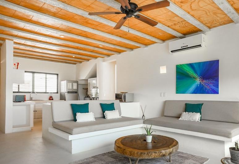 Saasil Penthouse w/ 180 Degree Jungle Panoramic View, Tulum, Dizajnový apartmán (2 Bedrooms), Obývacie priestory