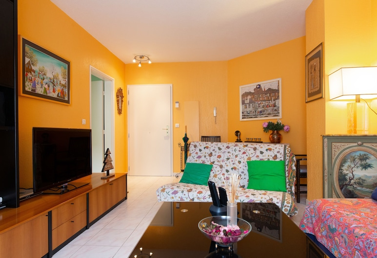 Le Patio Idealys , Nice, Apartment, 2 Bedrooms, Living Room