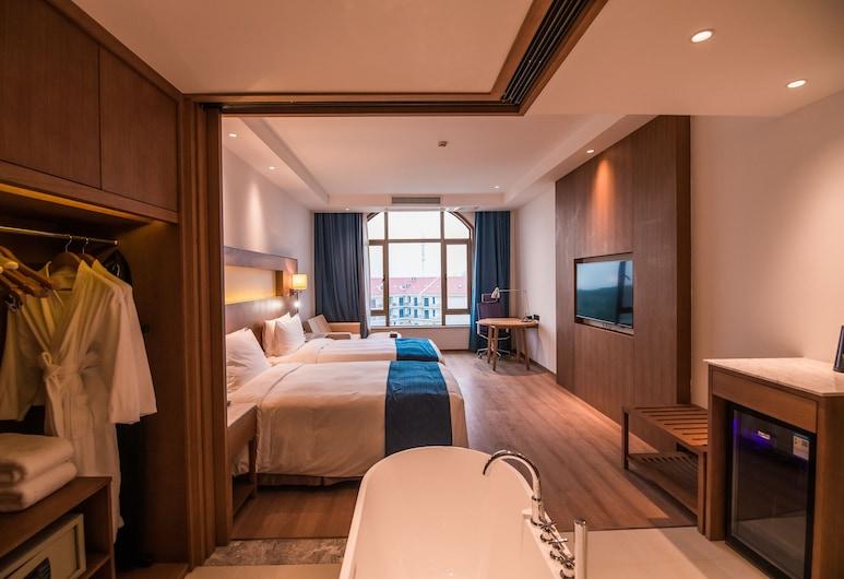 Novotel Suzhou Tai Lake Santeh Hotel, Suzhou, Deluxe-Zweibettzimmer, Zimmer