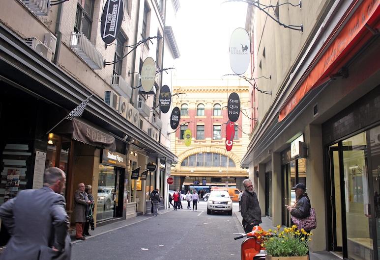 Essence of Degraves - Rejuvenate Stays , Melbourne, Property entrance