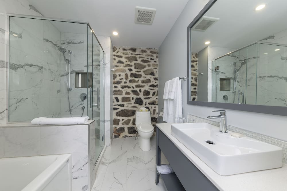 Apartmá typu Signature, dvojlůžko (180 cm), nekuřácký - Koupelna