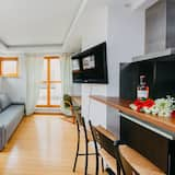 Business Διαμέρισμα, 1 Queen Κρεβάτι με Καναπέ-Κρεβάτι, Μη Καπνιστών, Θέα στην Πόλη - Περιοχή καθιστικού