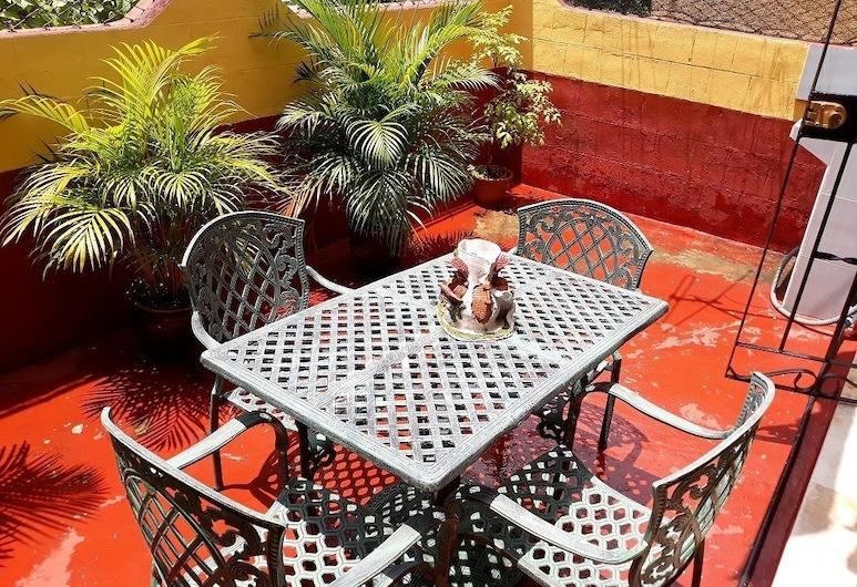 Casa Rafael, Havana, Terrasse/patio