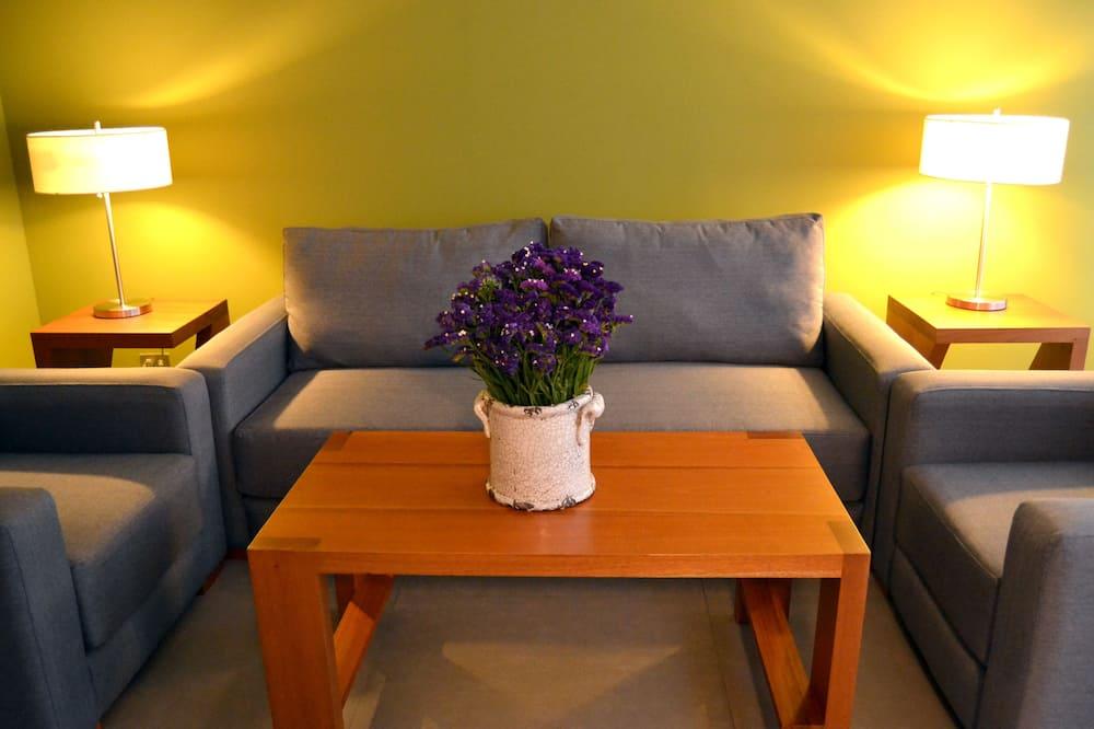Paaugstināta komforta luksusa numurs, vairākas gultas, nesmēķētājiem - Dzīvojamā istaba