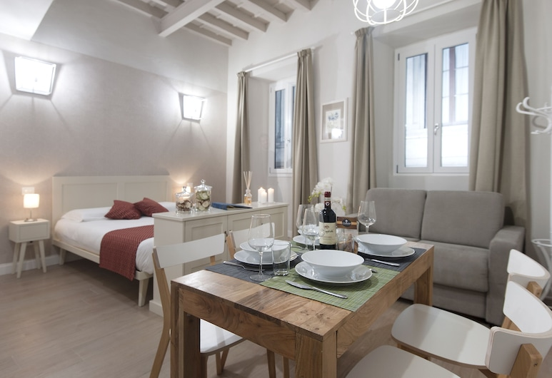 Le Fiorentine Boutique Apartments, Florence, Comfort Studio, 1 Queen Bed with Sofa bed, Kitchen, Room
