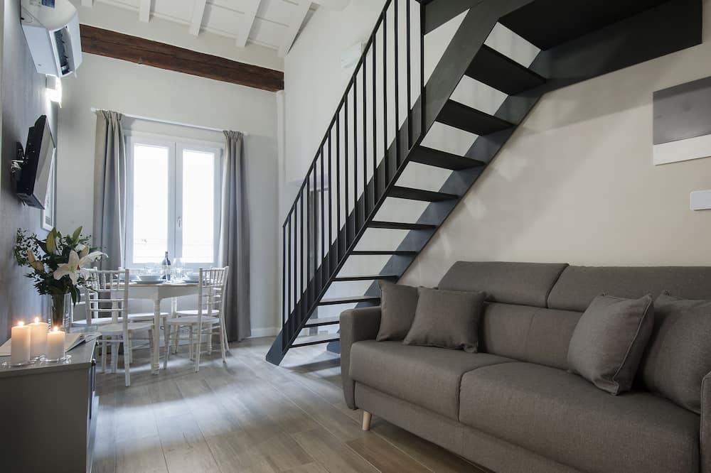 Superior Apartment, 1 Bedroom, Kitchen - Living Area