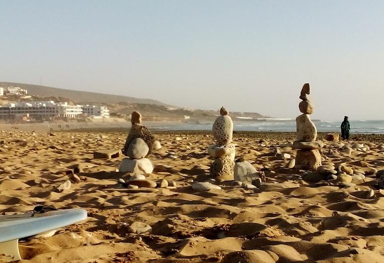 Ocean Surf House, Agadir, Strand