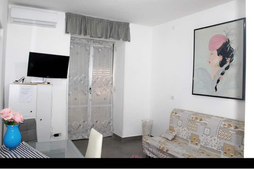 Kambarys, 1 miegamasis - Svetainės zona