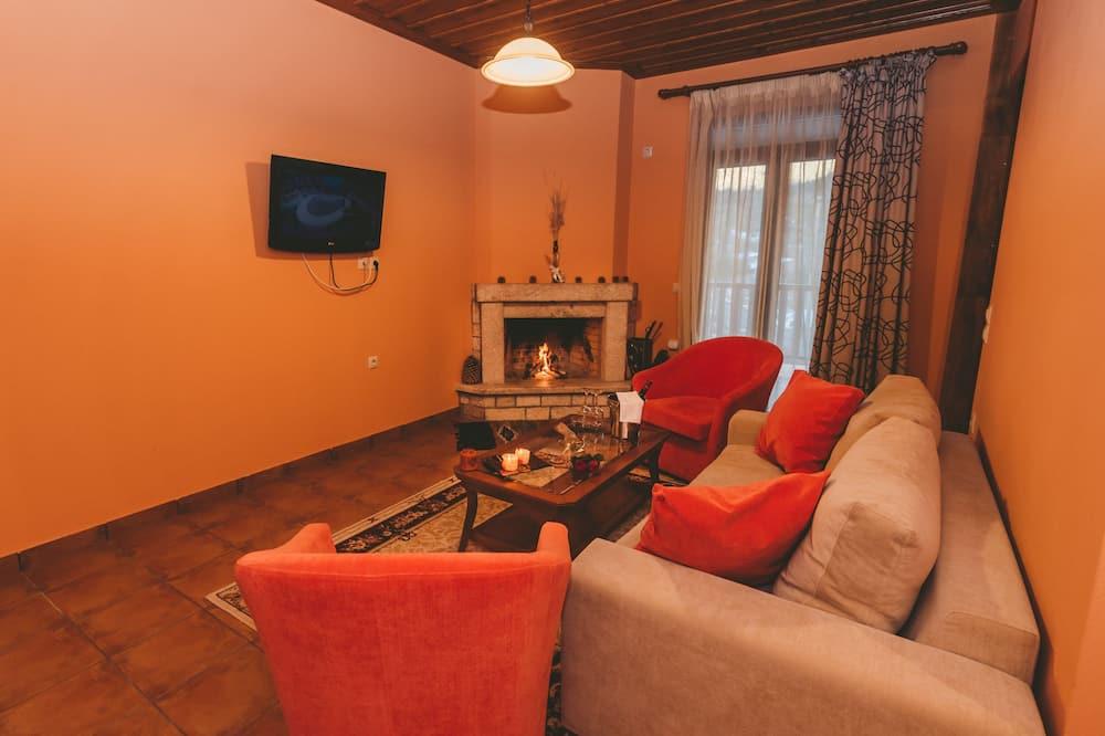Apartament typu Suite, kominek, widok na góry - Powierzchnia mieszkalna