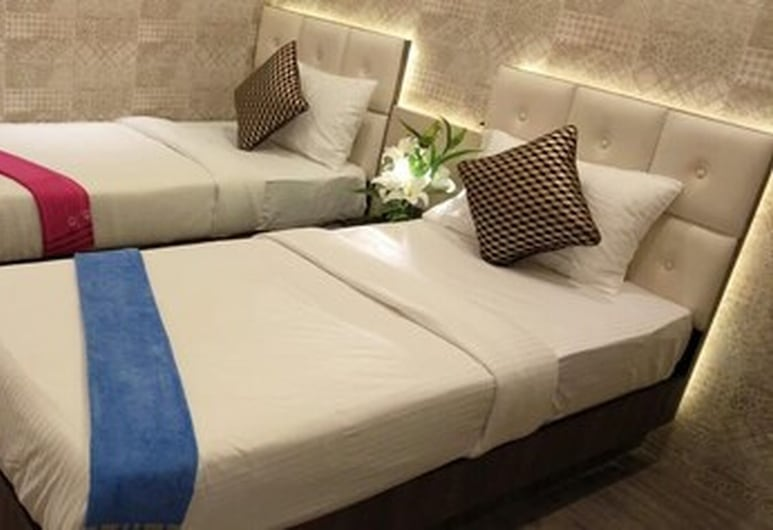 Nu Blue Moon Guest House, Howrah, Quarto Twin Deluxe, Quarto