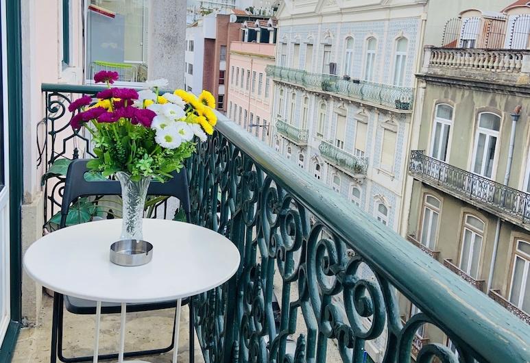 Lisbon Angels Hostel, Lissabon, Double Room, Terrace, Shared Bathroom, Terassi/patio