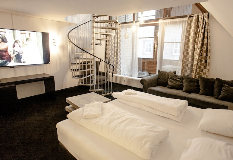HUXX City, Nuremberg, Comfort Penthouse, Guest Room
