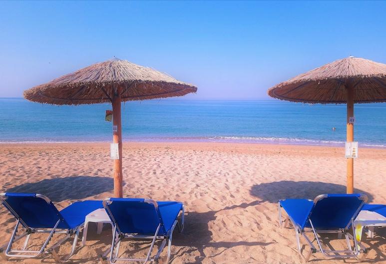 Vrachos Holidays Hotel, Preveza, ชายหาด