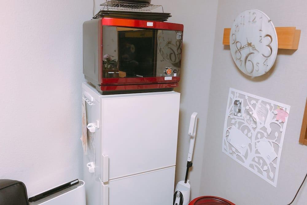 Māja, divas guļamistabas - Mikroviļņu krāsns