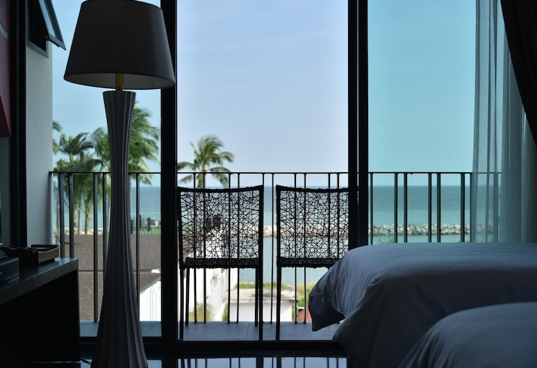 Eco Moment Beach Resort Hadchaosamran, Ban Laem, Camera Superior, non fumatori, vista mare, Vista dalla camera