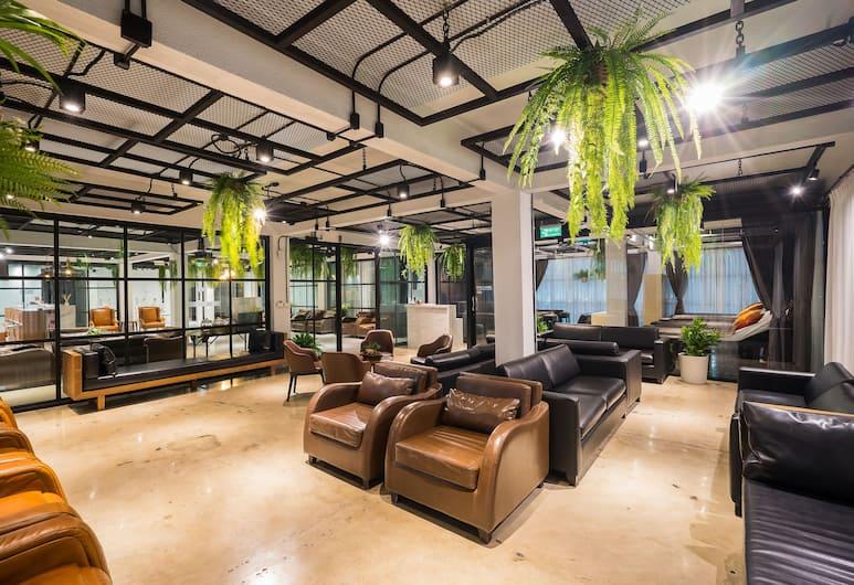 Marwin Villa, Bangkok, Posezení ve vstupní hale