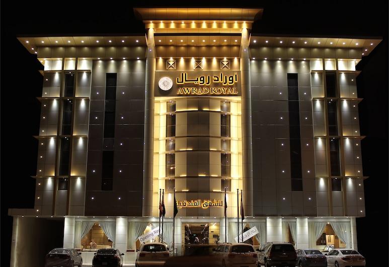 Awrad Royal, Riyadh, Hotellfasad - kväll