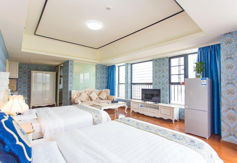 Kaimi Apartment Luogang Wanda Plaza, Guangzhou, Panoramic Twin Room, Room