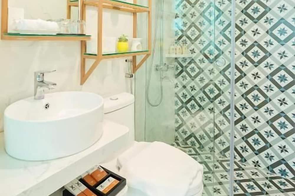 豪華雙人或雙床房, 城市景 - 浴室