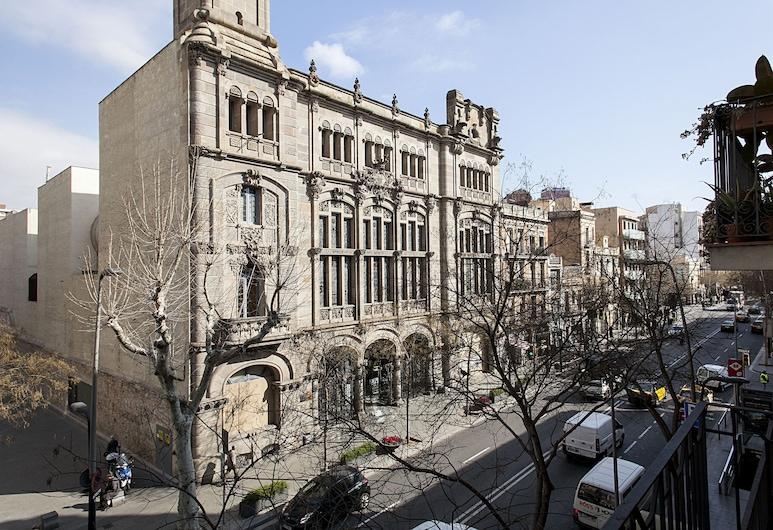 Habitat Apartments Plaza España, Barcelona, Vista aérea