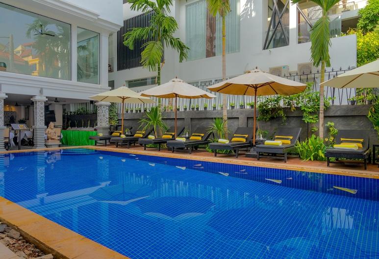 Popular Hotel & Spa, Siem Reap, Outdoor Pool