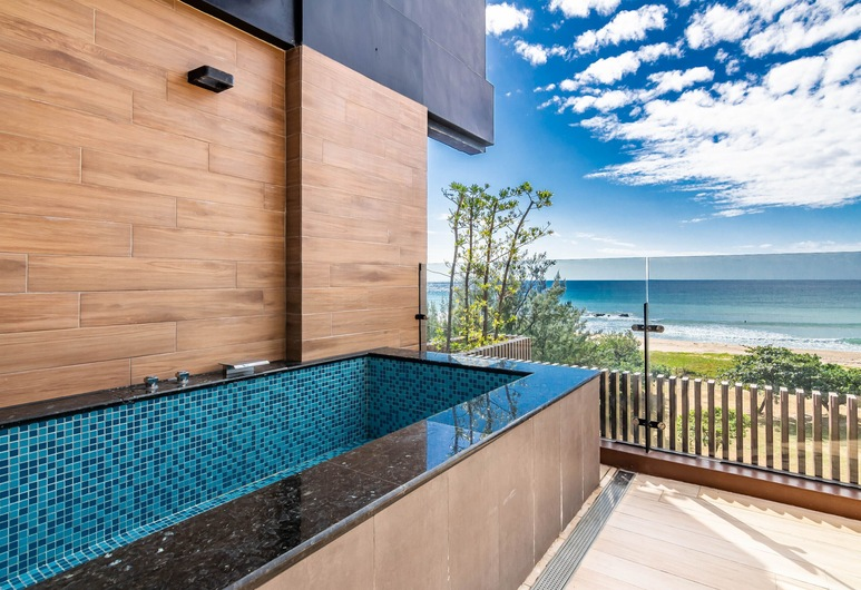 Kenting seawall Inn 112, Hengchun, Deluxe Double Room, Sea View, Guest Room