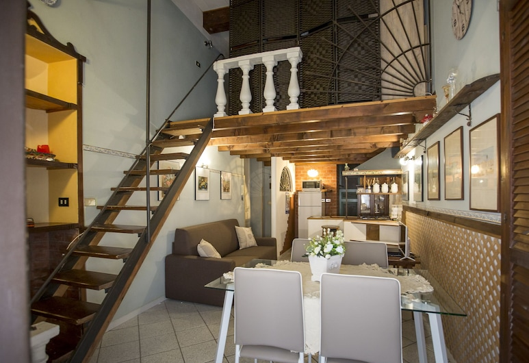Le Dimore del Mito -Medusa-, Syracuse, House, 1 Queen Bed with Sofa bed, Non Smoking, Living Area