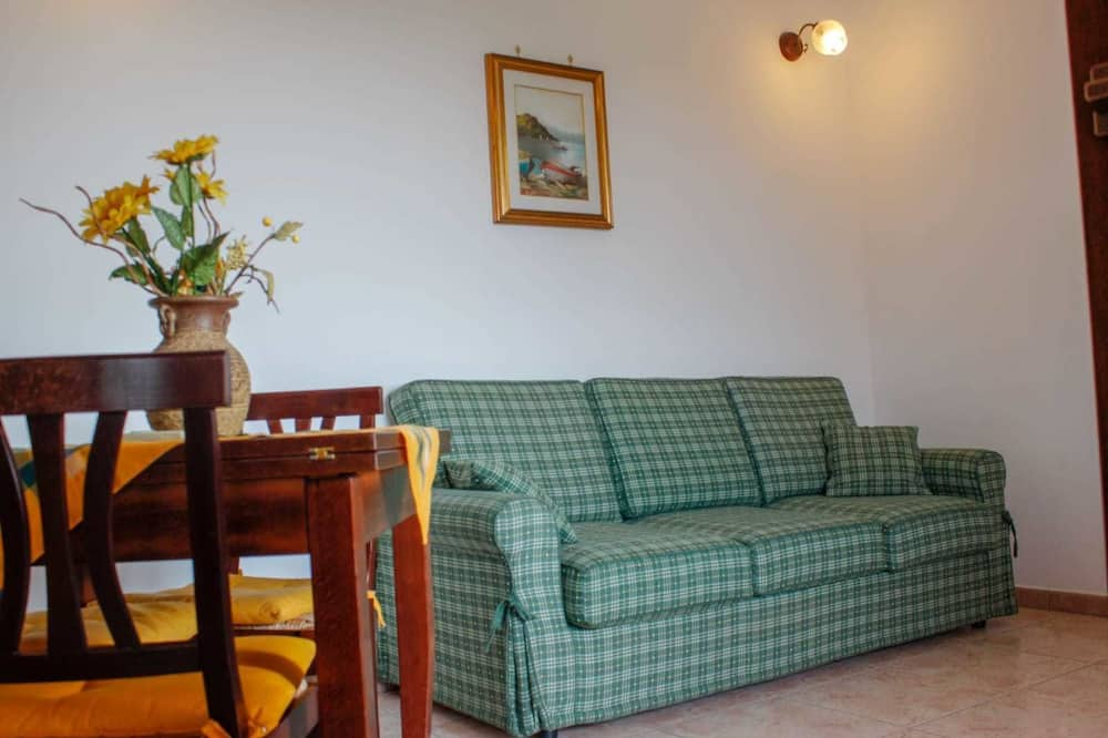 Departamento, vista a la colina - Sala de estar