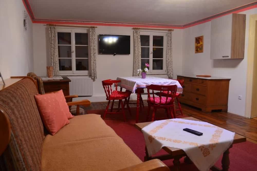 شقة كلاسيكية - عدة أسرّة - منظر للجبل (No 3) - منطقة المعيشة