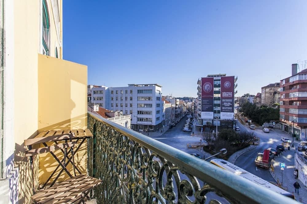 アパートメント 1 ベッドルーム (3C) - バルコニー